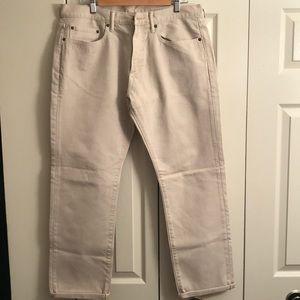 Men Cream Pant
